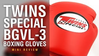 Twins Special BGVL-3 Muay Thai Boxing Gloves - Fight Gear Focus Mini Review