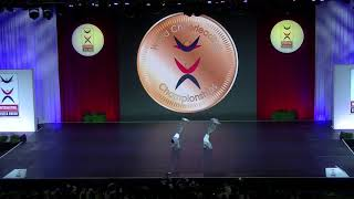 ICU2018:Hip Hop Doubles【Japan】Gold medals
