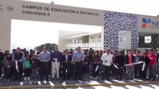 En Chichiquila inauguramos un Campus de Educación a Distancia
