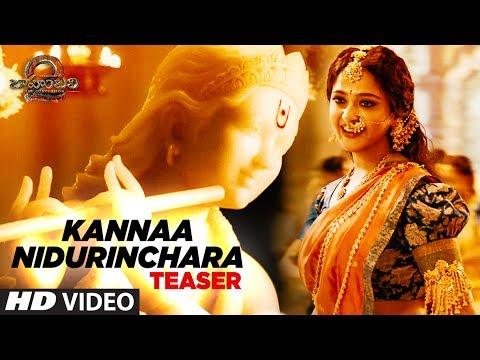 Kannaa Nidurinchara Video Song Teaser | Baahubali 2 | Prabhas, Anushka Shetty, Rana, Tamannaah