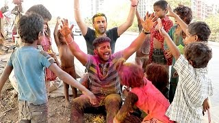 Making Of HOLI Prank 2017 & Deleted Scenes- Baap Of Bakchod - Raj & Sid