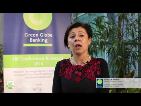 Intervista a Paola De Micheli | X Edizione Green Globe Banking Conference & Award