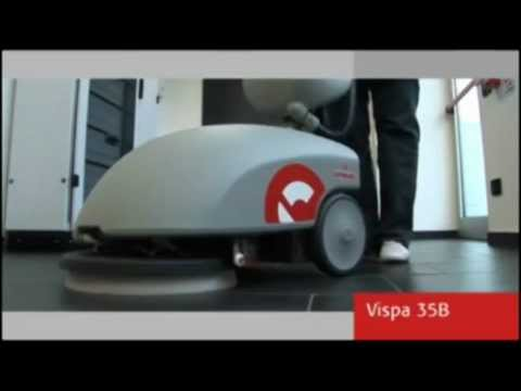 Floor Cleaning Maintenance Scrubbing Machine - Vispa 35B