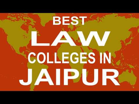 Best Law Colleges and Courses in Jaipur