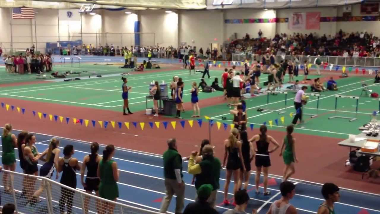 Alyssa Nye Indoor Track Meet at the Reggie Lewis Center 1 18 2014