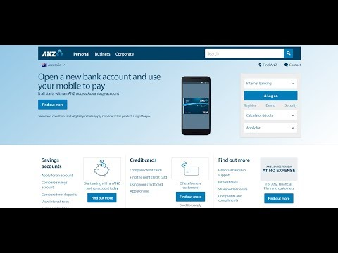 ANZ Bank Online Login And Reset Steps | Online Bank Login Sign In