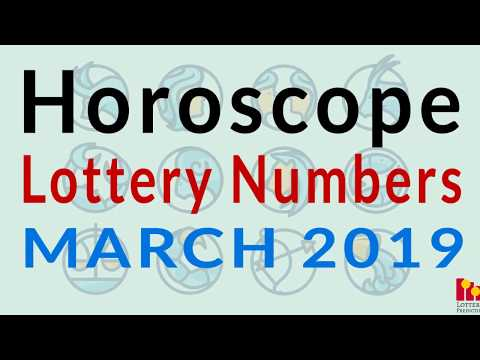 Astrological Lucky Pick 3 and Pick 4 Numbers For March 2019