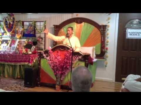 BV Madhava Maharaj 7/4/13 South Ozone Park Queens NY