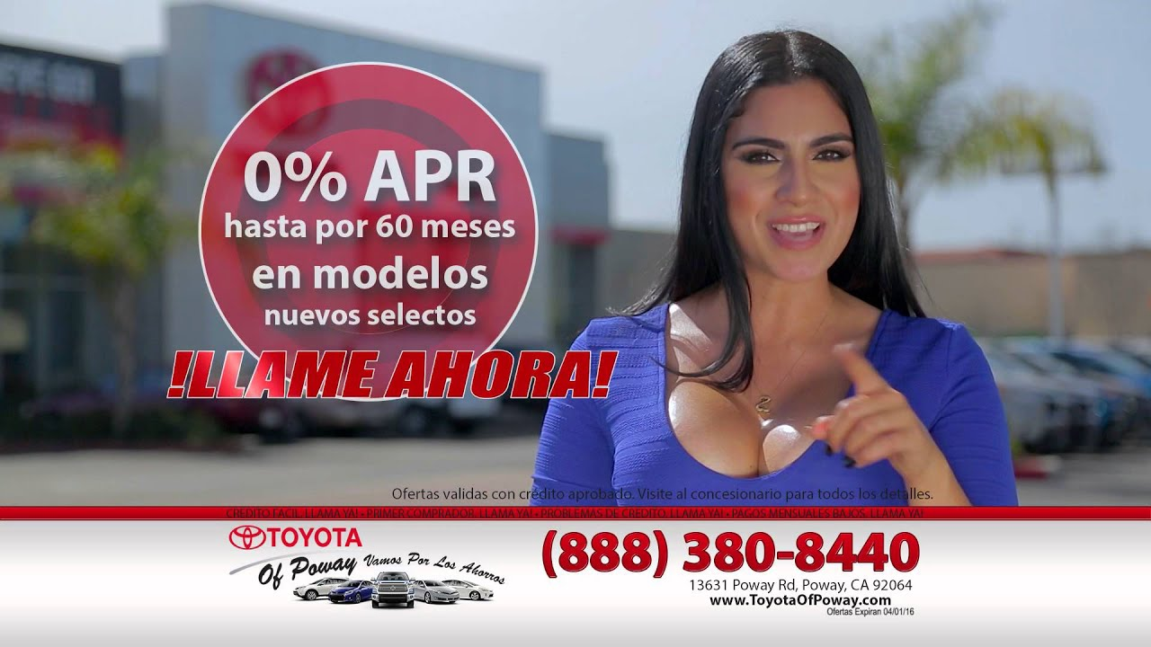 Spanish weekend ad toyota of poway