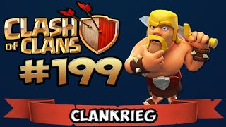 CLASH OF CLANS #199 ★ CLANWAR mit den NEUEN ★ Let's Play Clash of Clans
