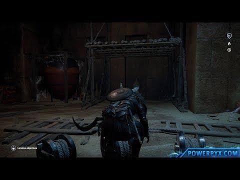 Assassin's Creed Origins – Tomb of Sneferu Walkthrough & Location (Pyramid of Sneferu Tomb)