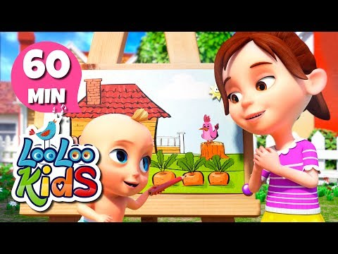 Drawing Song - Learn English with Songs for Children | LooLoo Kids
