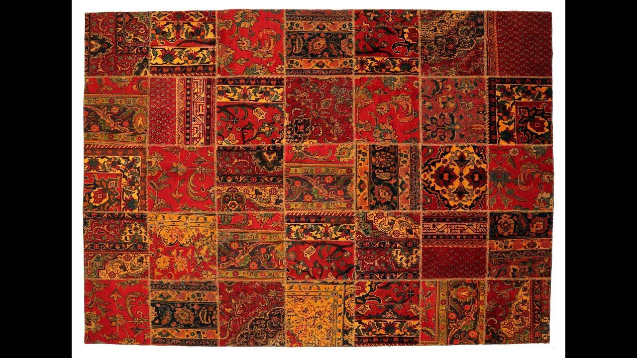 Patchwork Persian Carpet