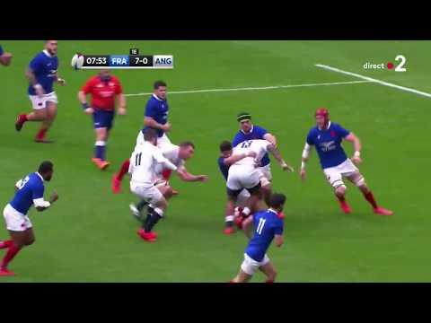 Bernard « Bok Destroyer » Le Roux vs Angleterre - 6 Nations 2020