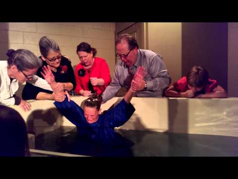 Kristin alley baptized in Jesus name!