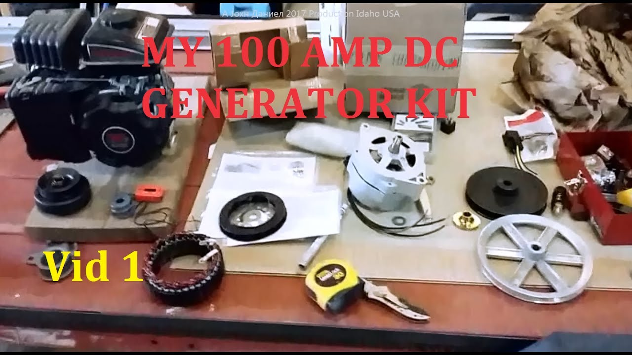 Diy 12v Generator Charger Gas Generator Battery Charger