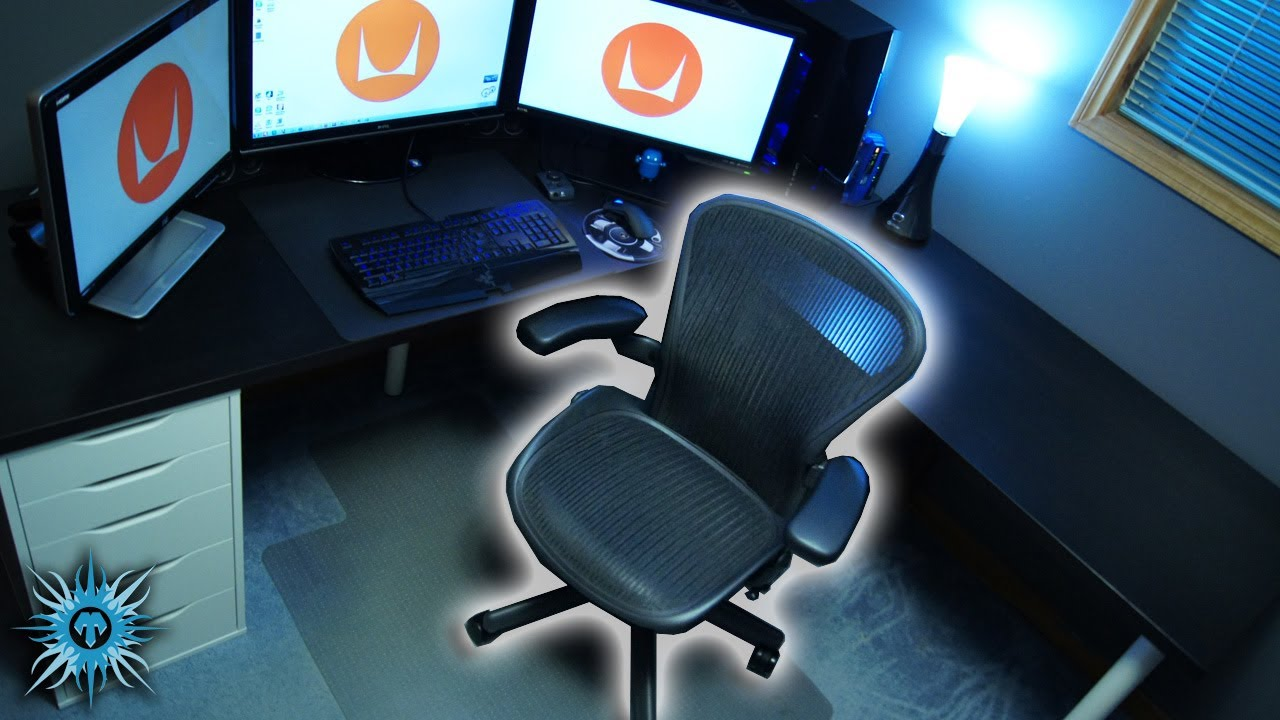 herman miller aeron chair size b reviews covers at walmart hd review youtube