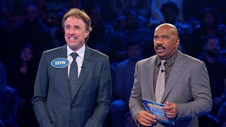 Kevin Nealon and Susan Yeagley Play Fast Money - Celebrity Family Feud