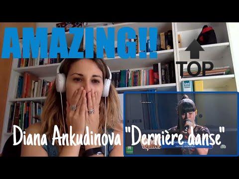 "Diana Ankudinova singing ""Dernière danse"" (Reaction Video)"