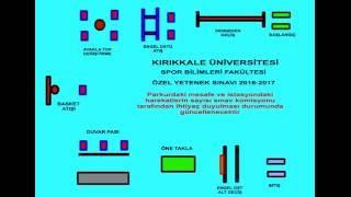 Kırıkkale Üniversitesi Spor Bilimleri Fakültesi 2016-2017 Eğitim Öğretim Yılı Özel Yetenek Sınavı