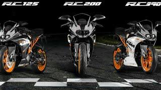 TOP SPEED KTM RC SERIES : 125 200 250 390 1190(RC8R)