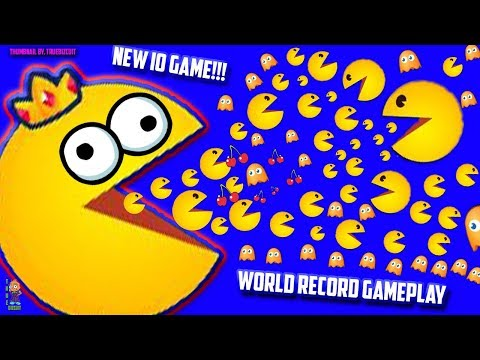 PACMAN.IO [WORLD'S BIGGEST PACMAN EVER!] TAKING OVER THE MAP | NEW IO GAME - FUNNY MOMENTS EDITS! HD