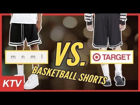 MNML Basketball Shorts And Target Basketball Shorts FULL REVIEW