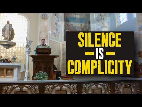 Fr. Altman: Silence is Complicity