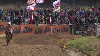 MXGP of Latvia Julien Lieber Crash #Motocross