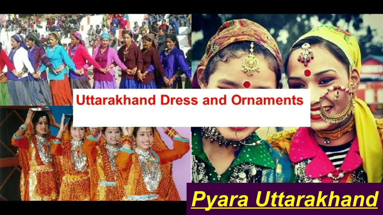 Traditional Dress of Uttaakhand - Costumes in Garhwal