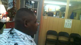 How To Take The Line out of a Bald Fade