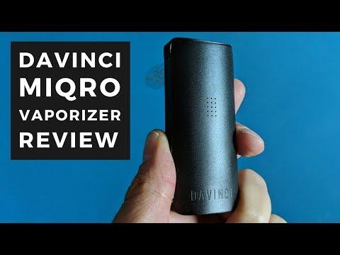 DaVinci MIQRO Vaporizer Review