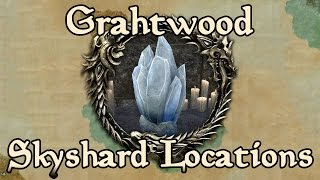 ESO: Grahtwood All Skyshard Locations (updated for Tamriel Unlimited)