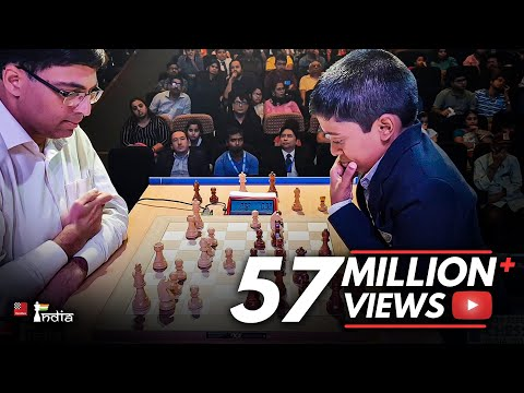 Rematch: Vishy Anand vs Praggnanandhaa | Tata Steel Chess India 2018