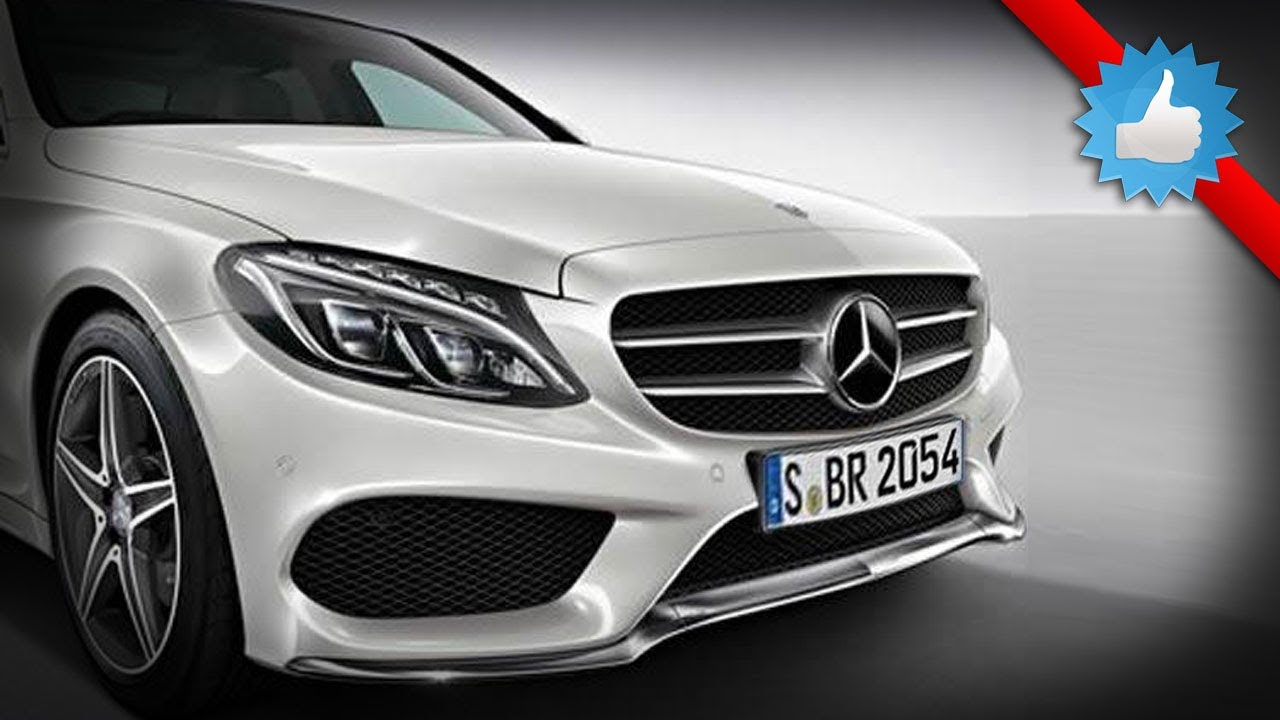 2015 MercedesBenz CClass AMG Line First Look  YouTube