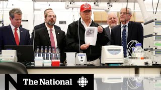 Trump tours Centres for Diseases Control