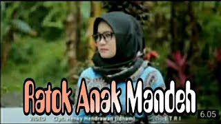 Lagu Minang - Ratok Anak Mandeh - Etry - (Official Music Video) - Cipt.Henky Hendrawan (Idham).