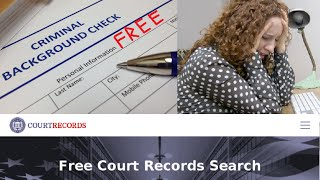 Where Online Can Do Free Criminal Background Record Check Search Someone Felony Crime Du