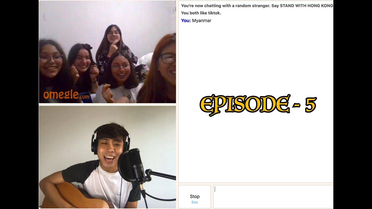 Download Singing Reactions on Omegle (ကိုယ်မသိတဲ့သူစိမ်းတွေကိုသီချင်းဆိုပြသောအခါ) Htun Naung Sint Ep 5