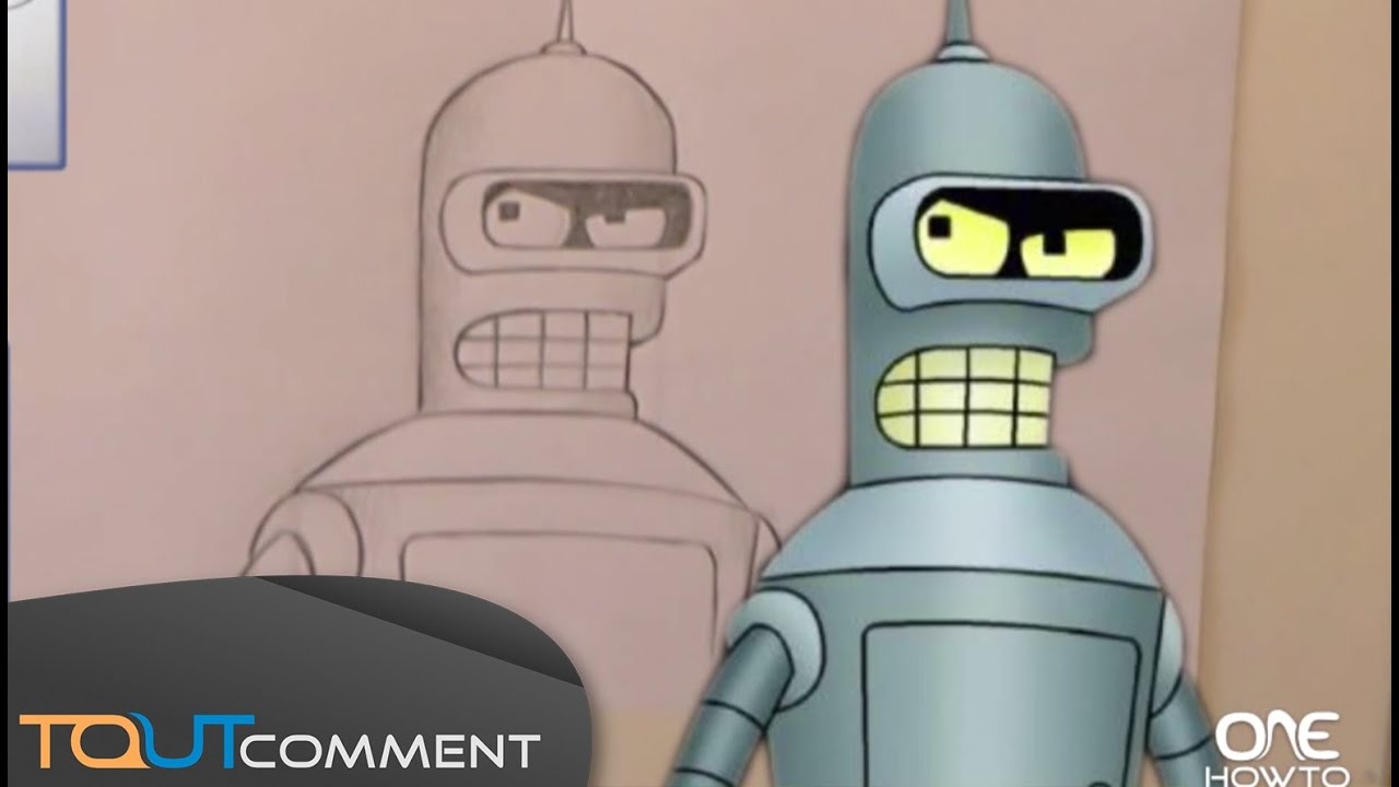 how to build bender futurama