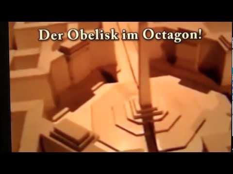 Hitler`s NWO Symbols in World Capital Germania: Obelisk in Octogon to Thank Swiss Financers