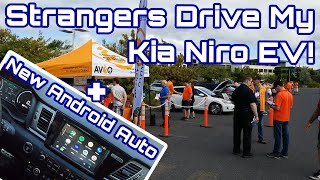 Kia Niro EV at Electric Car Event and the New Android Auto