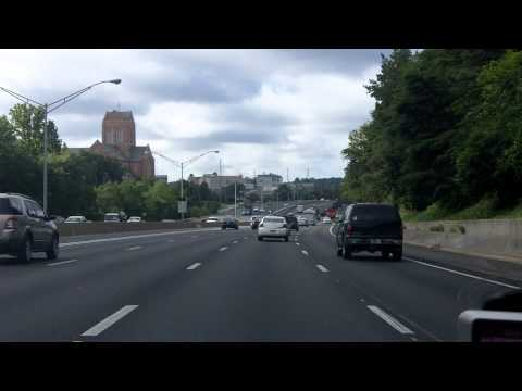 Driving south on interstate 75 in Atlanta