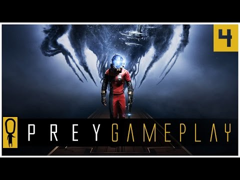 Let's Play PREY Gameplay Part 4 - SPACE WALK and Calvino's Workshop - Walkthrough