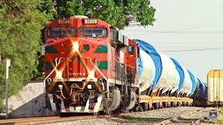 Ferrocarril Mexicano con CARGA ANCHA - TORRES EÓLICAS