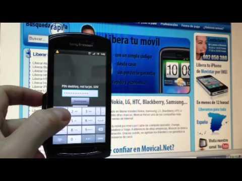Liberar Sony Ericsson Xperia Neo V MT11i por código imei