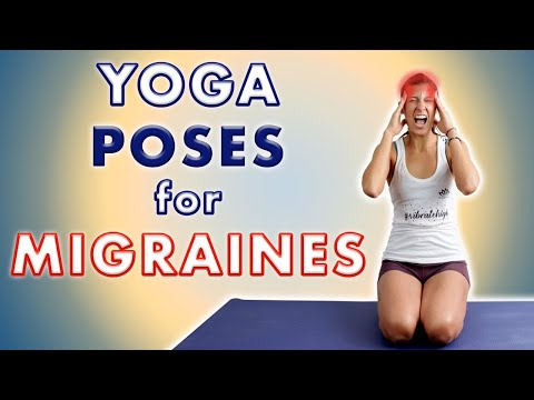 7 Yoga Poses For Tension Headaches Migraines Youtube