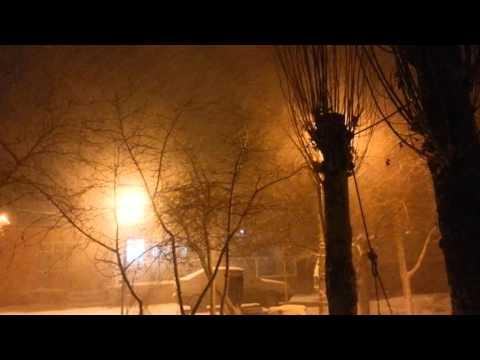 Doğubeyazıt kar fırtınası 20 mart 2016
