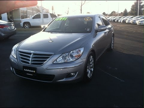 2009 Hyundai Genesis 3.8 Limited Start Up, In Depth Tour and Review