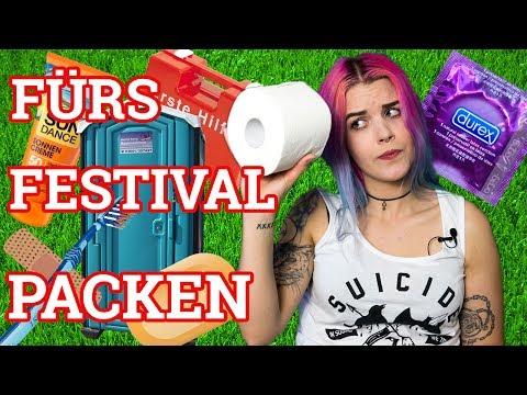 Festival Packliste +